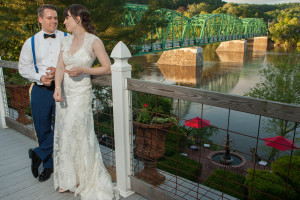 New Hope Wedding Venue - Bride and Groom
