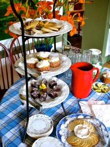 Tea Time at a Bucks County B&B