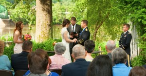 New Hope Wedding Ceremony Riverside