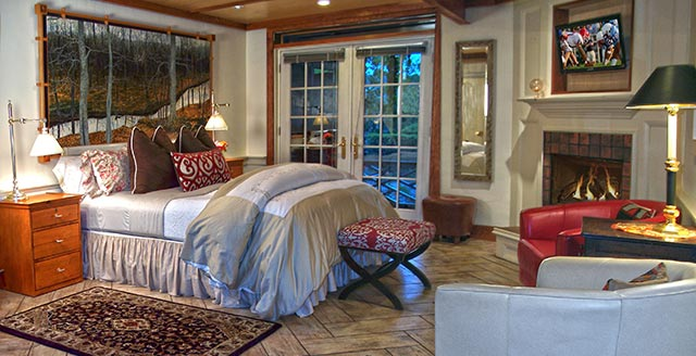 river suite at The Bridgeton House