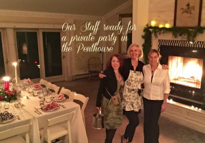 Holiday Dinner in Penthouse - New Hope Private Parties
