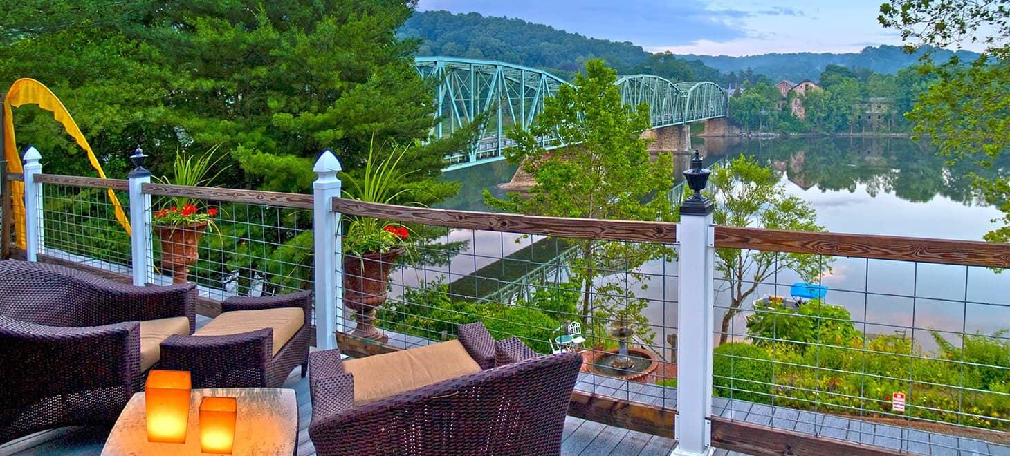 Romantic Getaway in New Hope Pennsylvania