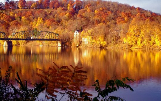 Fall Colors on the River