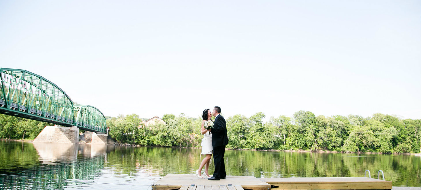 Delaware River Wedding Ceremony