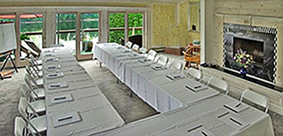 Penthouse as meeting space