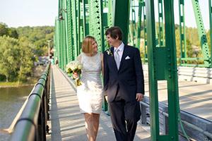 Delaware Bridge - River Wedding