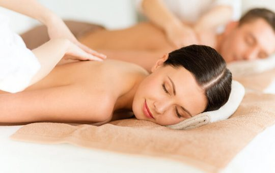 massage and spa services at romantic getaway in PA