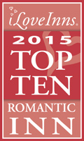 I love Inns, Top 10 Romantic Inns logo