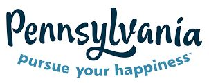 Pennsylvania pursue your happiness logo
