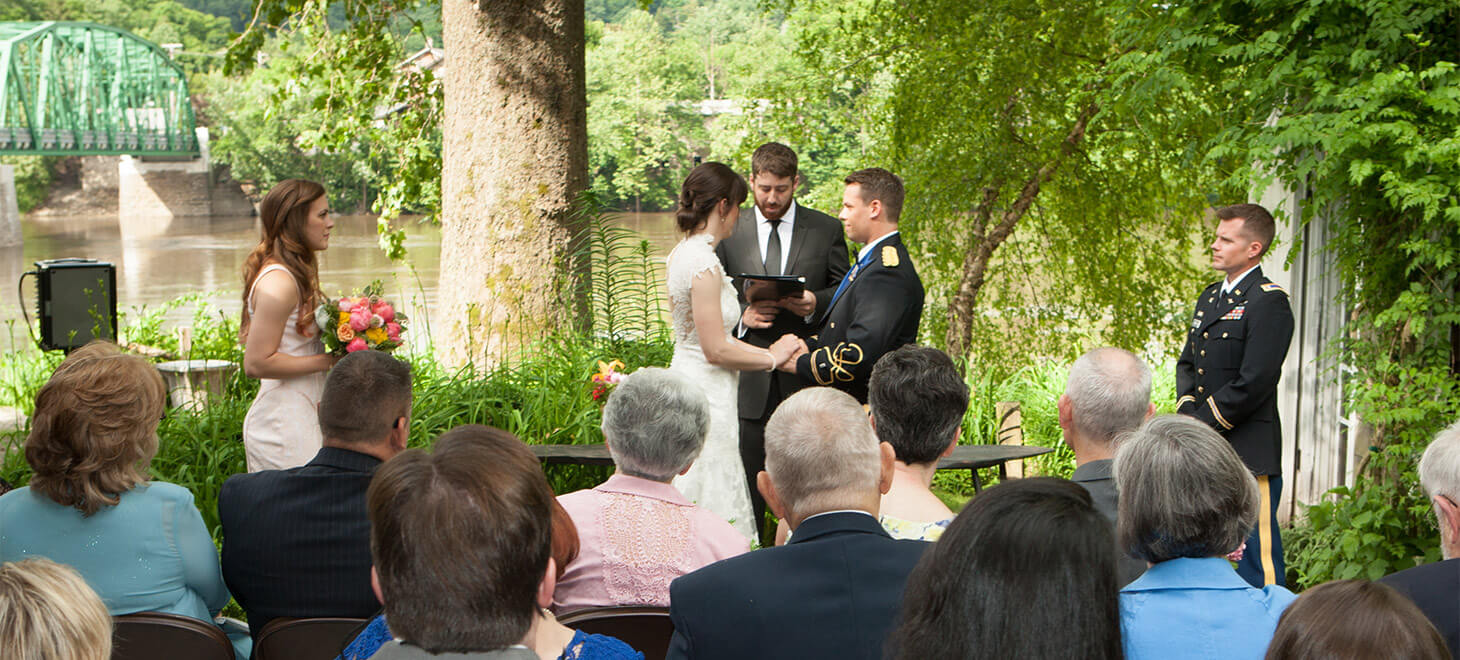 new hope wedding venues magical wedding on the delaware