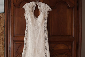 Wedding Dress in Luxury New Hope Hotel