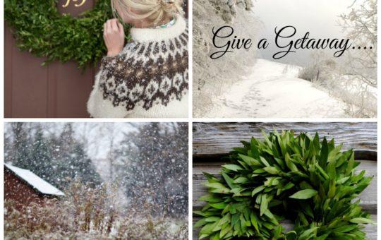 give a getaway - winter scenes