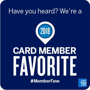 American Express 2018 cardmember favorite logo