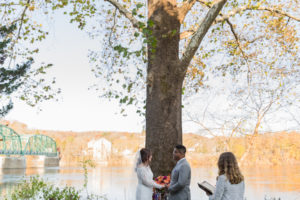 riverside wedding
