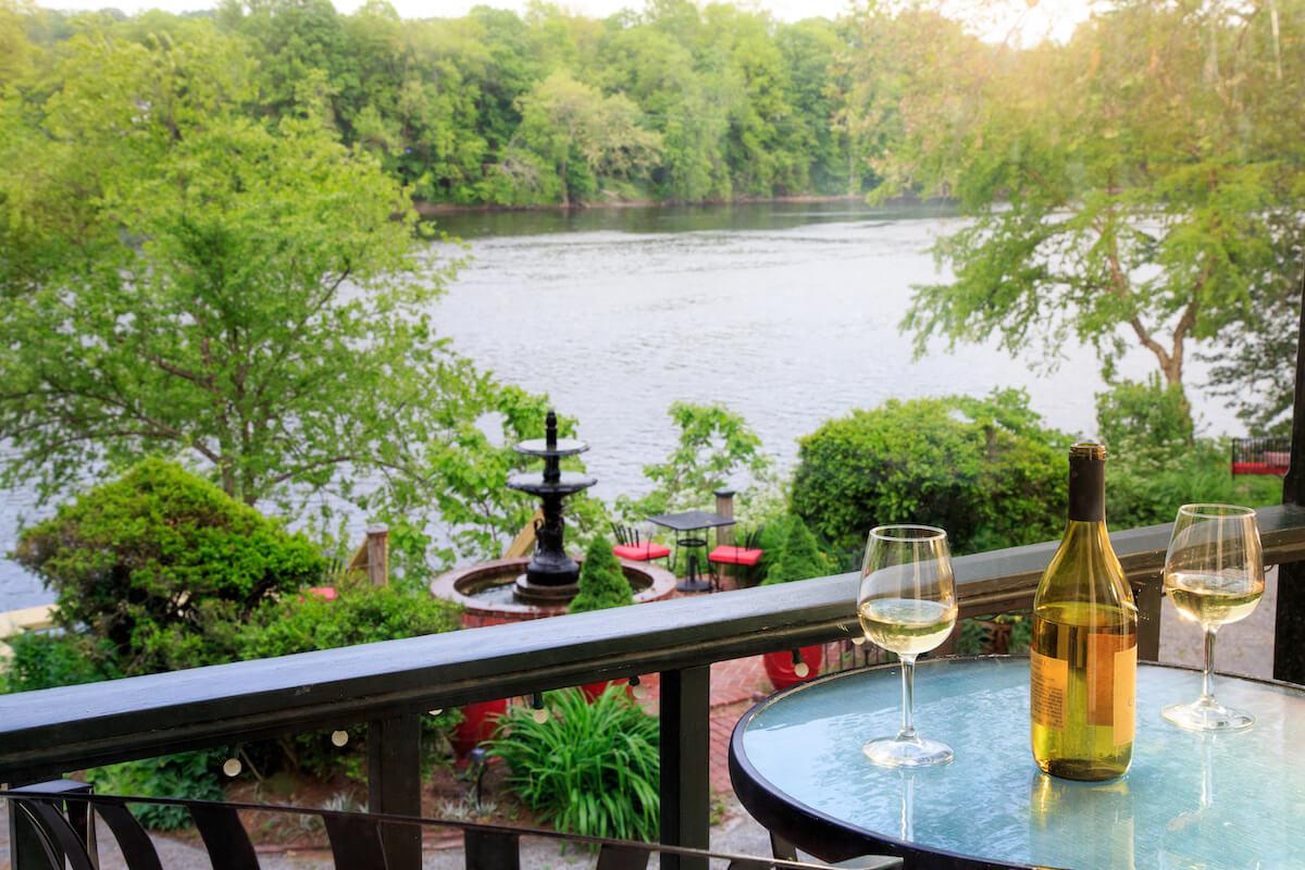 Bridgeton House River view