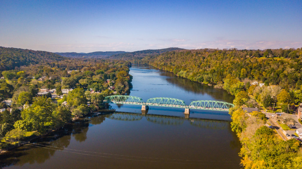View of River & Bridge
