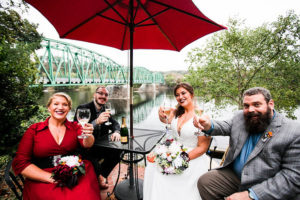 Wedding Toast, Riverside