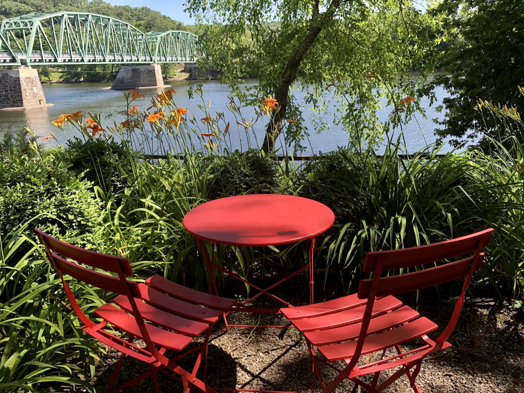 Riverside Cafe near New Hope PA