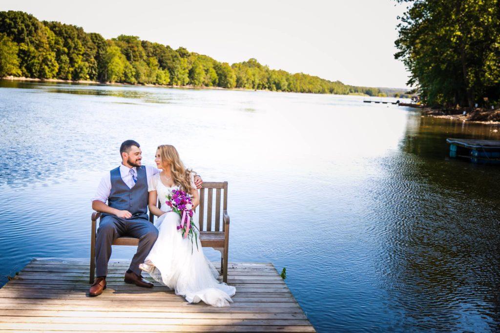Sweet River Wedding
